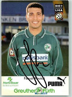 10378689 - 8722 Greuthermuehle Faouzi Roussi Greuther Fuerth , sign. Fussball