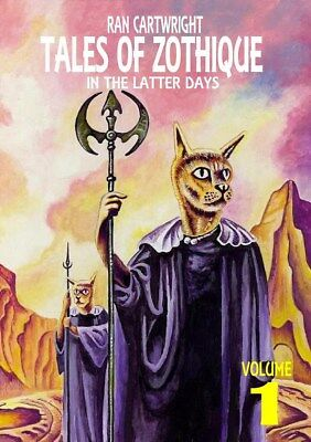048 TALES OF ZOTHIQUE #1 Rainfall chapbook. Tales inspired by Clark Ashton Smith