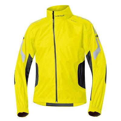 Held Wet Tour Black / Fluo Yellow Moto Motorcycle Waterproof Trouser | All Sizes