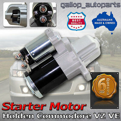 Commodore Adventura Statesman Crewman Starter Motor for Holden V6 3.6L VZ VE