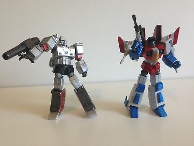 Revoltech Megatron 25 Starscream 46 Kaiyodo Transformers - G1 Cartoon Homage