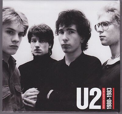U2 - 1980 - 1983 Limited Edition Collector's Box - Rare box for remastered CDs