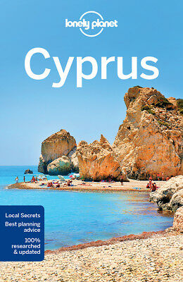 Lonely Planet Cyprus 7 Travel Guide 2018 BRAND NEW 9781786573490