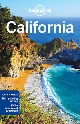 Lonely Planet California Travel Guide 8 Travel Guide BRAND NEW 9781786573483