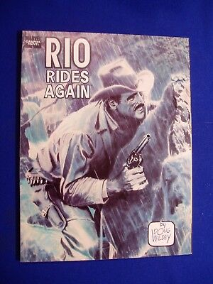 Rio Rides Again. Western. Marvel Graphic Novel by Doug Wilder.  VFN