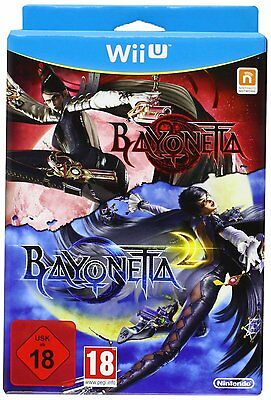 Nintendo Wii U Game Bayonetta 1+2 for the New WiiU NEW