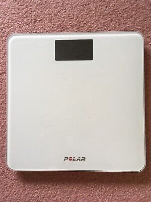 Polar Balance Connected Smart Scale Weight Loss Activity Tracker- White