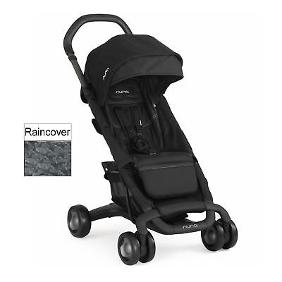 Nuna Night Pepp Luxx Pushchair Stroller With Pushchair & Raincover