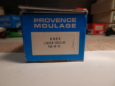 Provence Moulage Lincoln Cadillac Pam Am 53 (K863) Resin Model Kit - Rare