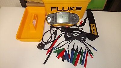 Fluke 1653B Multifunction Tester 17th Edition  with  Remote probe