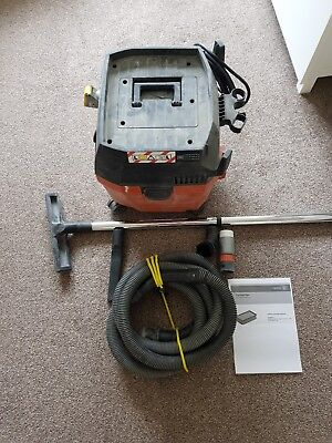 Fein Dustex Dust Extractor 110v 25 litre wet and dry vacuum