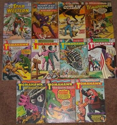 DC Western Lot of 11 Tomahawk 38 78 All Star Western 6 7 102 Gray Tone Frontier