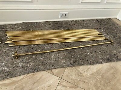 """38"""" Solid Brass Stair Rods"""