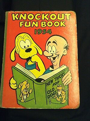 Childrens Annual 'KNOCKOUT FUN BOOK' 1954