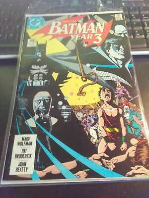 Batman #436 (Aug 1989, DC)key issue