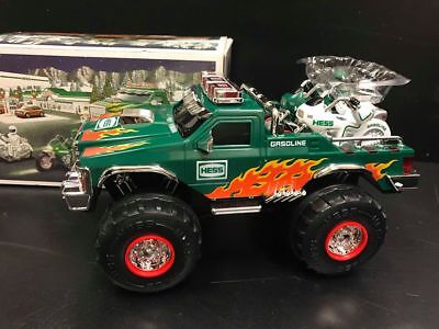 2007 Hess Toy Monster Truck With Motorcycles
