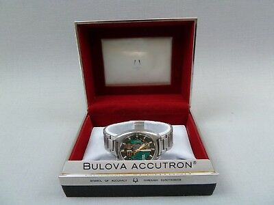 Bulova Accutron Spaceview Vintage Armbanduhr mit Box