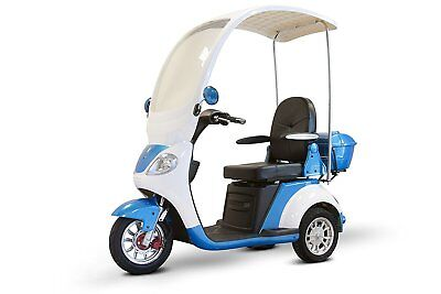 New Ewheels  Ewheels Luxurious Electric Oversized Scooter with Full Canopy