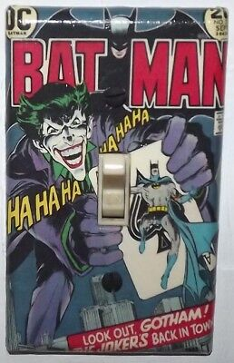 Batman 251 Light Switch Cover Plate - DC Comics Joker