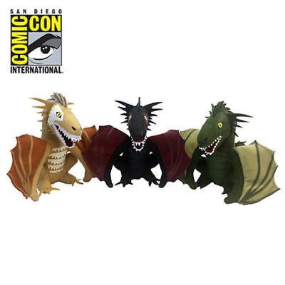 Game Of Thrones Dragon Plush Box Set San Diego Comic-Con Exclusive SDCC 2017
