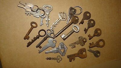 A Selection Of Old Keys.