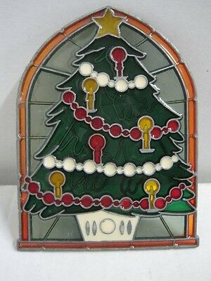 Small stained glass for Christmas tree decoration