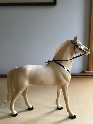 "Lot #1 Hartland Plastics Horse ""Silver"" used by the Lone Ranger"