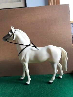 "Lot #3 Hartland Plastics Horse ""Silver"" used by the Lone Ranger SUPERB"