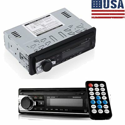 Car Radio Bluetooth Stereo Head Unit Player MP3/USB/SD/AUX-IN/FM In-dash 1 DIN