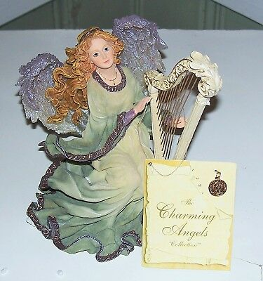 Aria, Guardian Of Harmony, 2Nd Edition Boyds Charming Angel Series