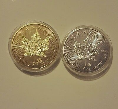 silver plated maple and gold plated maple