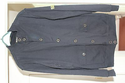 "Men's 100% Genuine Barbour International Jet Black Jacket Uk Xl 23"" P2P"