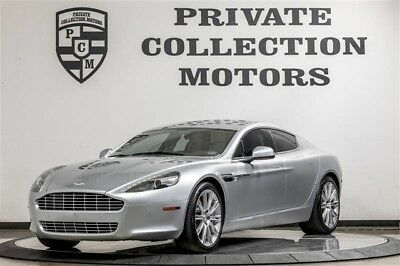 2011 Aston Martin Rapide Base Sedan 4-Door 2011 Aston Martin Rapide 2 Owner Clean Carfax Low Miles Well Kept