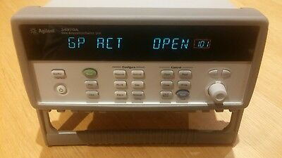 Agilent / Keysight 34970A Data Acquisition with 34903A 20 Channel Card