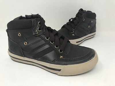 89fec4a69818 New! Boys Youth Skechers Planfix- COGENT Casual Shoe Chocolate 93693L A37