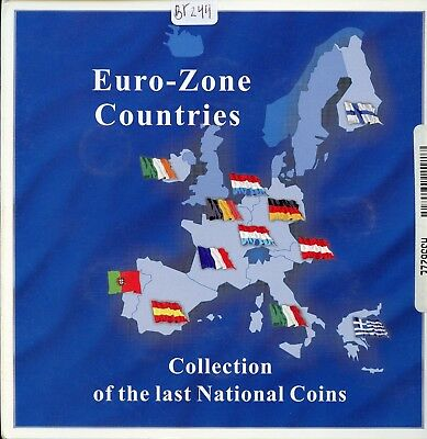 Fantastic Euro-Zone Countries Collection of the Last National Coins BR 244