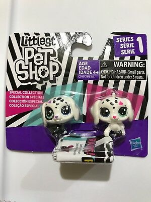 Littlest Pet Shop Special Collection Series 1 Black & White BFFs Mini Dogs