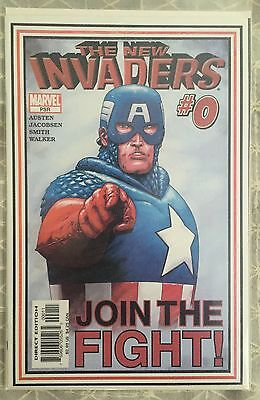 Marvel THE NEW INVADERS..#0..NM unread 1st print..'Once An Invader' part 4