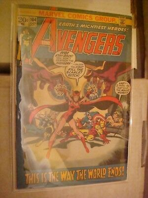 Avengers 104  The way the World ends