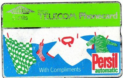 Bt Phonecards – Persil Automatic With Compliments