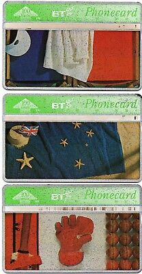 Bt Phonecards – Flying The Flag (3 Different Phonecards)
