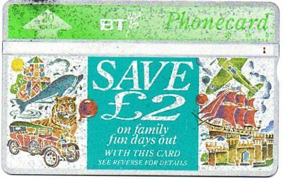 Bt Phonecards – £2 Off Famaily Days Out