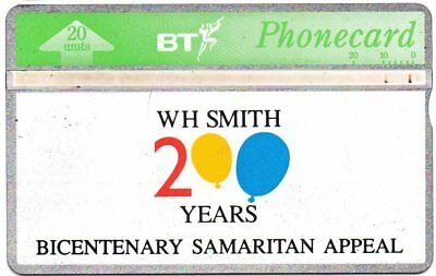 Bt Phonecards – Wh Smith 200 Years Bicentenary Samaritan Appeal