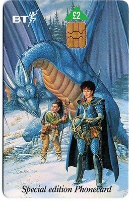 Bt Phonecard – Dragons Of Summer Flame Special Edition Phonecard No. 4