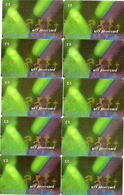 Bt Phonecard Smart (10 Phonecards - All The Same)