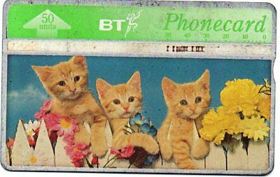 Bt Phonecards – Spring In The Air (Kittens)
