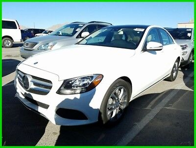 2017 Mercedes-Benz C-Class C 300 Luxury 2017 Mercedes-Benz C300 loaded, wholesale priced at just $26500 sitting in Vegas