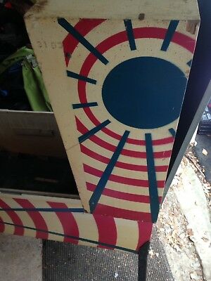 1972 Bally Space Time Pinball Cabinet for parts or restore