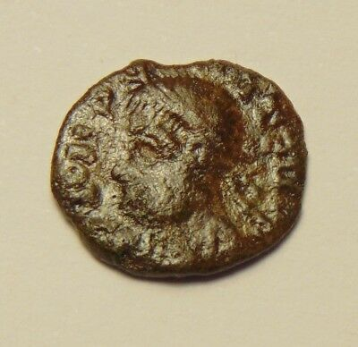 Ancient Roman Coin - Showing Nice Detail, Uncleaned & Unresearched (17-02/021)