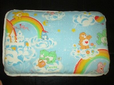 Pre-Owned ADORABLE Vintage ORIGINAL CARE BEARS 1980's BABY Small PILLOW